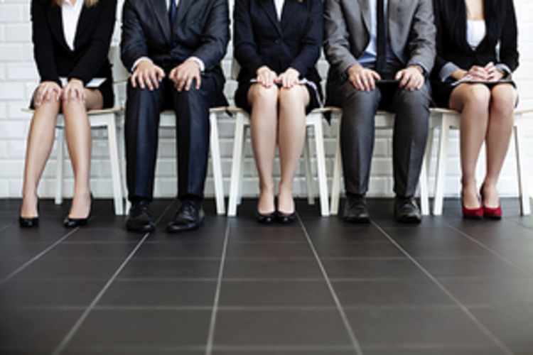 Business People Waiting For Interview Smaller