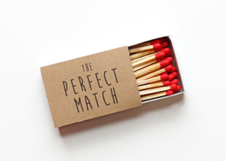 Perfect Match Wedding Favors