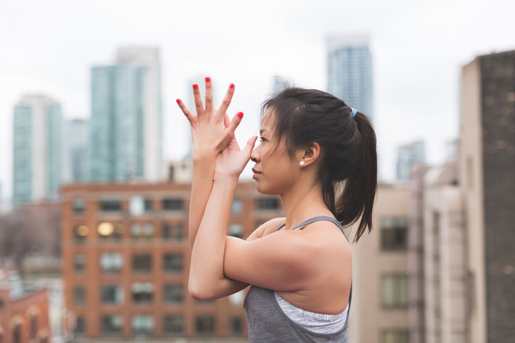 Canva   Woman Stretching Her Arms